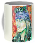 Axl Rose Portrait.2 Coffee Mug