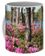 Azalea At The Lake Coffee Mug