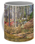 Azaleas By The Pond's Edge Coffee Mug