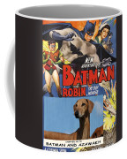 Azawakh Art - Batman Movie Poster Coffee Mug