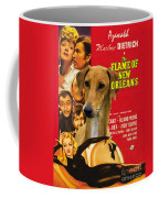 Azawakh Art - The Flame Of New Orleans Movie Poster Coffee Mug