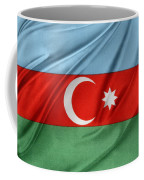 Azerbaijan Flag Coffee Mug by Les Cunliffe
