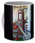 Aztec And The Gas Pump Coffee Mug
