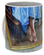 Through The Looking Glass- A Vision In Azure, Prelude To A Dance Coffee Mug