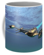 B Wing Aircraft Coffee Mug