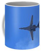 B1-b Lancer In The Skys Over Las Vegas Coffee Mug