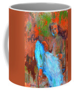 Baba In A Chair Coffee Mug