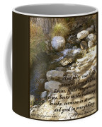 Babbling Brook William Shakespeare Quote Coffee Mug