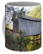 Babbs Covered Bridge In Maine Coffee Mug