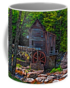 Babcock State Park Paint Coffee Mug