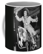 Babe Didrikson On Sidesaddle Coffee Mug