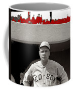 Babe Ruth As Member Of The Boston Red Sox National Photo Company Collection 1919-2013 Coffee Mug