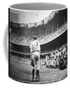 Babe Ruth Poster Coffee Mug by Gianfranco Weiss