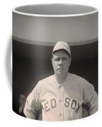 Babe Ruth With The Sox Coffee Mug