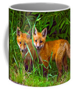 Babes In The Woods Oil Coffee Mug