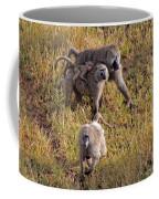 Baboon Family Coffee Mug