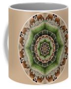 Baby Bison Mandala Coffee Mug