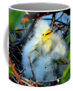 Baby Egrets Coffee Mug