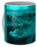 Baby Gator Turquoise Coffee Mug
