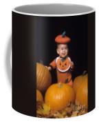 Baby In Pumpkin Costume Coffee Mug