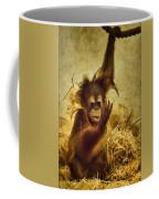 Baby Orangutan At The Denver Zoo Coffee Mug