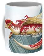 Baby Scarlet Spotted Dragon Coffee Mug