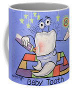 Baby Tooth Coffee Mug by Anthony Falbo
