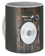 Bachelor's Dinner Coffee Mug by Joana Kruse