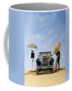 Baci Nel Deserto Coffee Mug by Guido Borelli