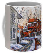 Back Lanes 02 Montreal By Prankearts Coffee Mug