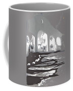 Back North Entrance #1 Of San Xavier Mission Tucson Arizona 1979-2013  Coffee Mug
