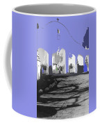 Back North Entrance #2 Of San Xavier Mission Tucson Arizona 1979-2013  Coffee Mug