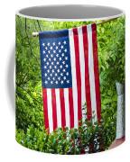 Back Porch Americana Coffee Mug by Carolyn Marshall