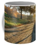 Back Road Morning Coffee Mug by Bill Wakeley