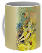 Back-stage At The Opera Coffee Mug by Jules Cheret