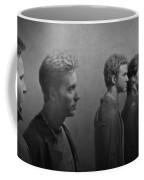 Back Stage With Nsync Bw Coffee Mug by David Dehner