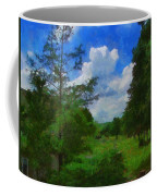 Back Yard View Coffee Mug