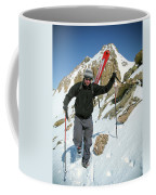 Backcountry Skiing, Citadel Peak, Co Coffee Mug