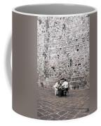 Backgammon At The Ancient Wall Coffee Mug