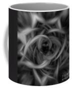 Background Flames Bw Dark Coffee Mug