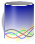 Background Lines Coffee Mug