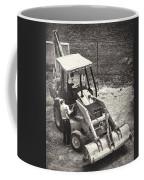 Backhoe Bw Coffee Mug