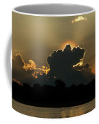 Backlit Clouds During Sunset Over Lago Coffee Mug