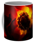 Backlit Flower Coffee Mug by Fabrizio Troiani