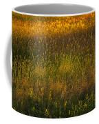 Backlit Meadow Grasses Coffee Mug