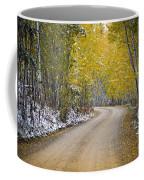 Backroads Of Autumn Coffee Mug
