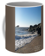 Backwash On Sunset Beach Cape May Coffee Mug