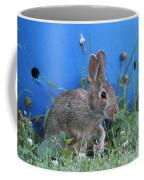 Backyard Bunny Coffee Mug