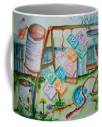 Backyard Play Simple Times Coffee Mug