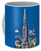 Badger Football Memorial Coffee Mug